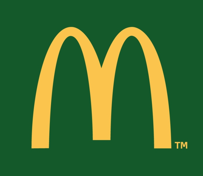 MAC DONALDS VERT nouveau logo